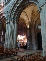 Photographie de l'oeuvre Chapelle Saint-Exupère, de Inconnu. Nature de l'intervention: Dégagement des décors. Restauration fondamentale..
